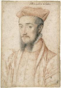 François Clouet, Charles, cardinal de Lorraine, 1555 © Ojéda/RMN-Grand Palais (domaine de Chantilly)