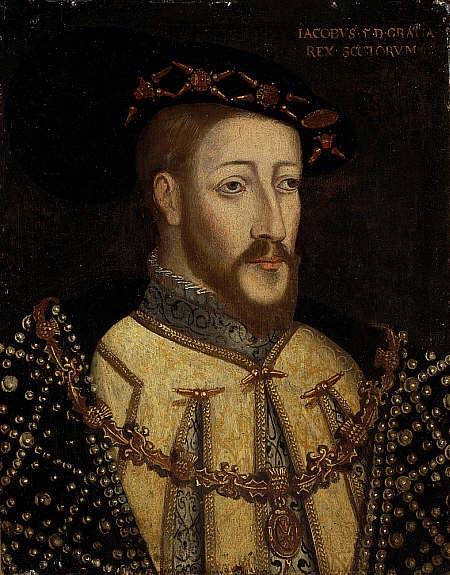 Jacques V (1512 - 1542), vers 1579. © SNPG, Edimbourg