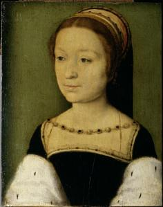 Corneille de Lyon, Madeleine de France, vers 1536. © R-G. Ojéda/RMN-Grand Palais