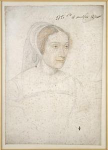 François Clouet, Marie de Bourbon, vers 1535. © H.Bréjat/RMN-Grand Palais (domaine de Chantilly)