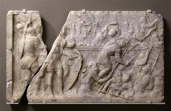 Bas-relief du sarcophage du tombeau de Claude de Lorraine