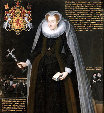 The Blairs Memorial Portrait of Mary, Queen of Scots. © Blairs Museum Trust