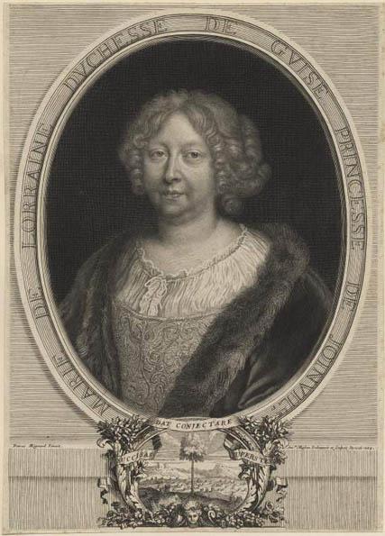 Mignard (d'après), Portrait de Marie de Lorraine, 1684. © The Fitzwilliam Museum, Cambridge