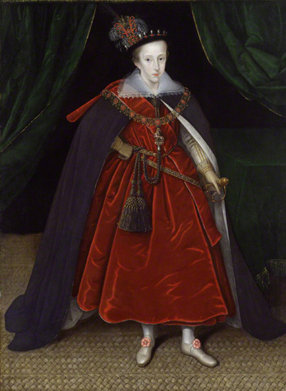Marcus Gheeraerts the Younger, Henry, Prince of Wales (1603) © NPG