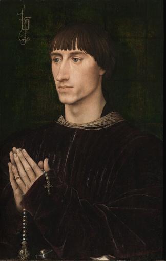 Rogier van der Weyden, Portrait de Philippe de Croÿ. © SABAM Belgium