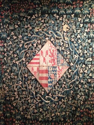 Tapisserie à Mille fleurs (détail). Château de Langeais. © A.B.