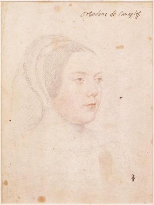Jean Clouet, Marie d'Acigné, dame de Canaples