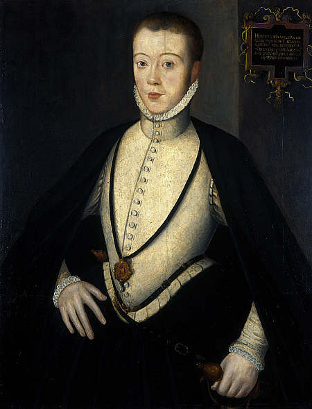 Henry Stuart, lord Darnley. NPG