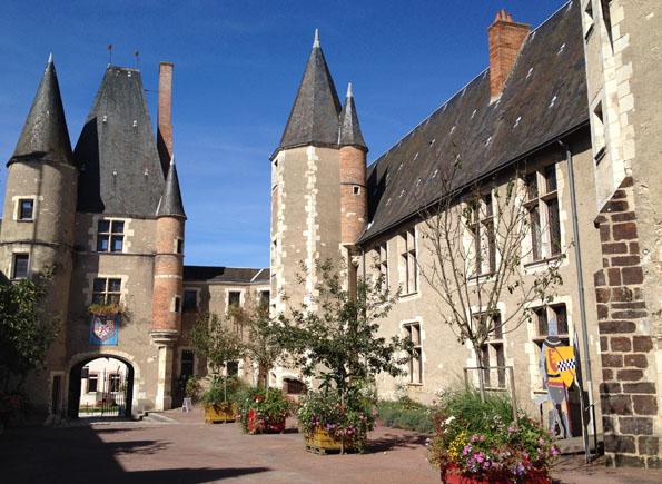 Le château des Stuarts, Aubigny-sur-Nère