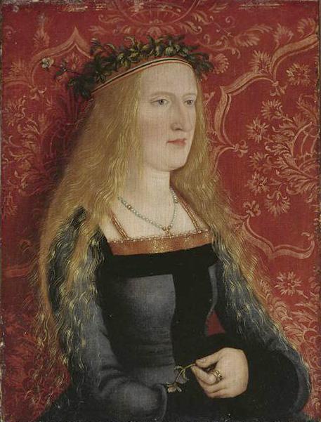 Portrait d'une jeune mariée aristocrate