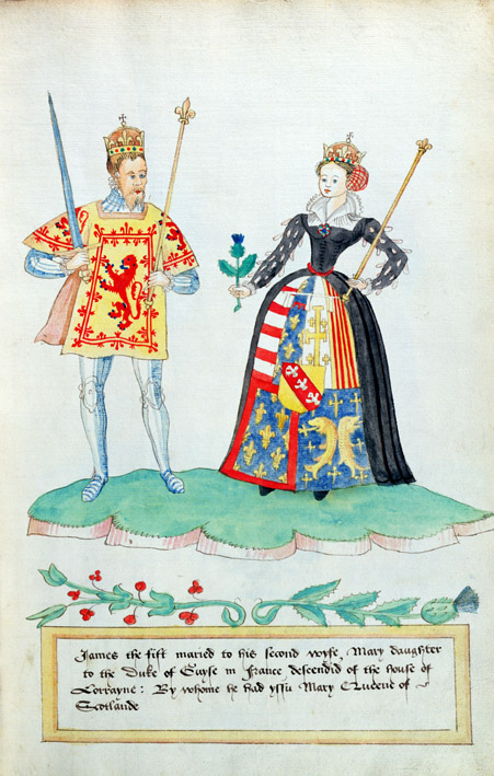 James V (1512-42) of Scotland and Mary of Guise (1515-60)