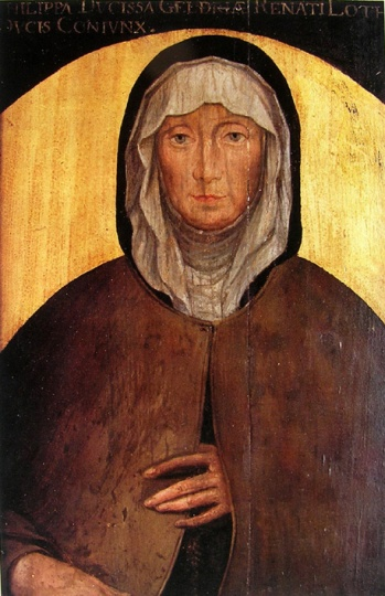 Philippe de Gueldre. Peinture sur bois - Début XVIe siècle. Musée Lorrain.